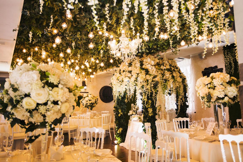 свадебное оформление в грин хаус
