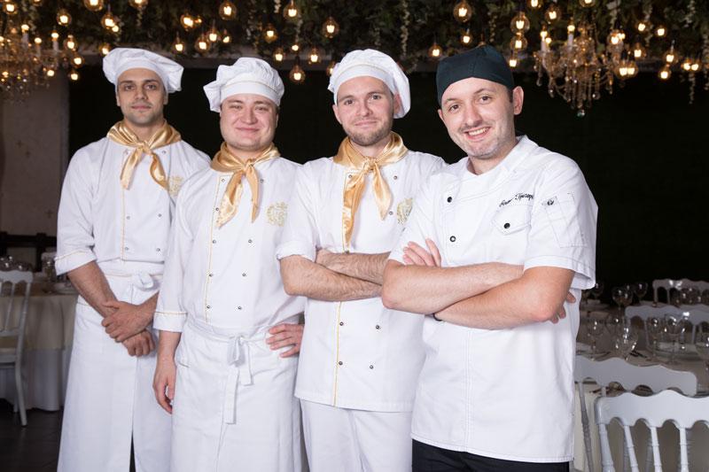 Шеф-повар Андрей Григорьев